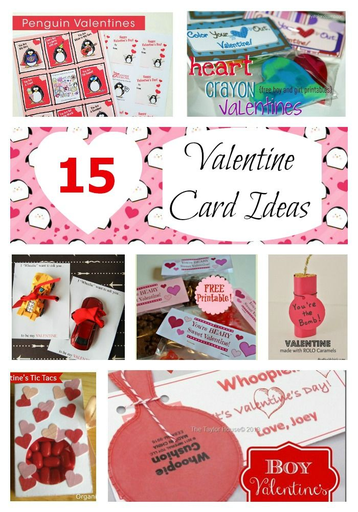Kids valentines cards ideas for Valentine day card ideas