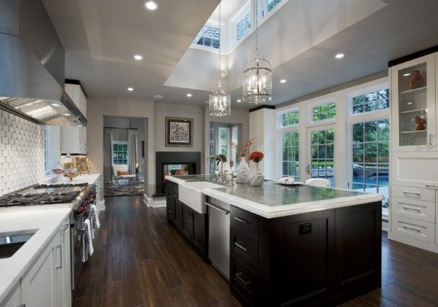 38 fabulous kitchen island designs home pinterest