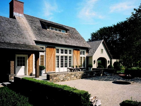 Ina Garten 39 S Belgian Barn Architecture And Landscaping
