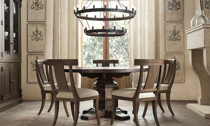 Small dining room restoration hardware for the home for Restoration hardware dining room ideas
