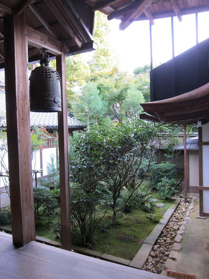 Japanese courtyard garden garden Pinterest
