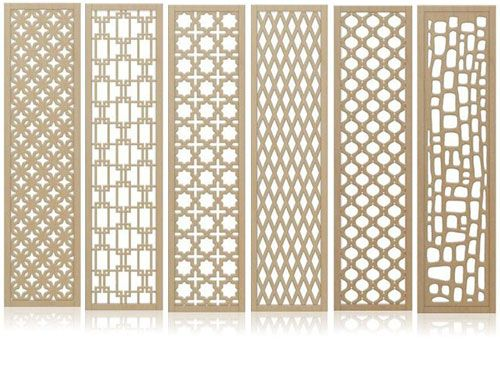 Wall screen folding screens room dividers pinterest for Design patterns of doors