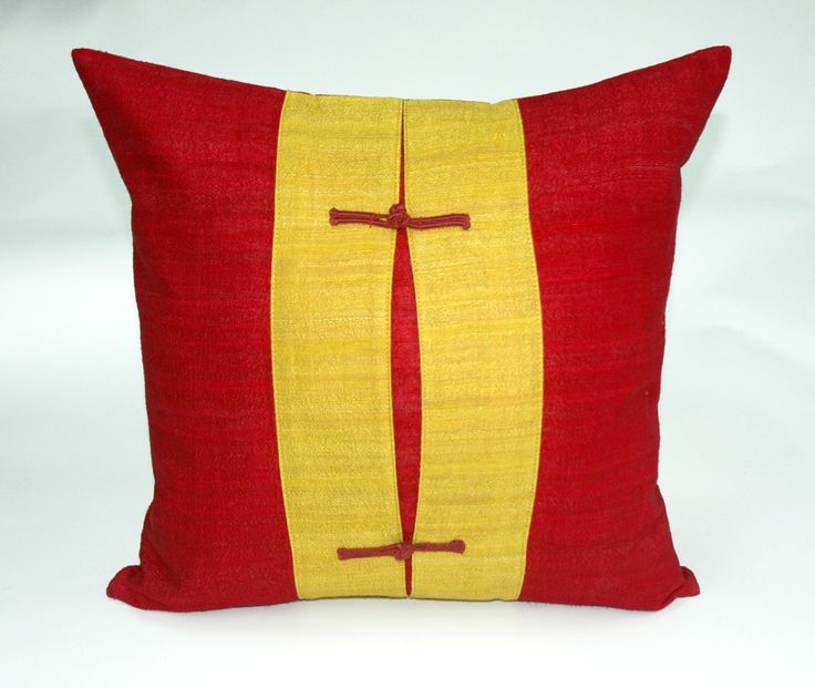 warm red and yellow pillow accessories decorating ideas with perfect