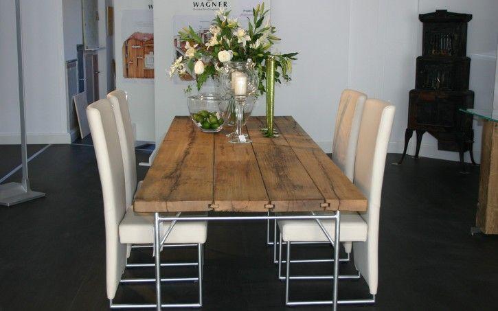 Elegante-Esszimmer-mit-creme-Stühle Dining Room / Kitchen Pintere ...