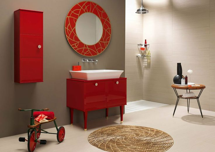 cuarto-de-baño-vintage  Casa  Pinterest