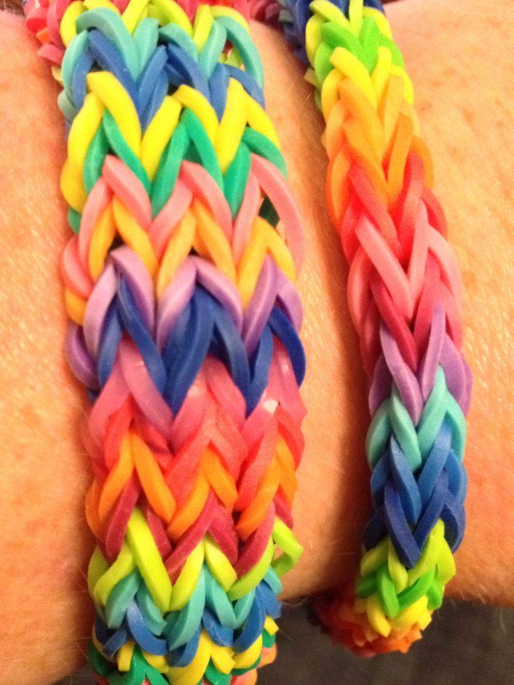 Double Fishtail Rainbow Loom Instructions