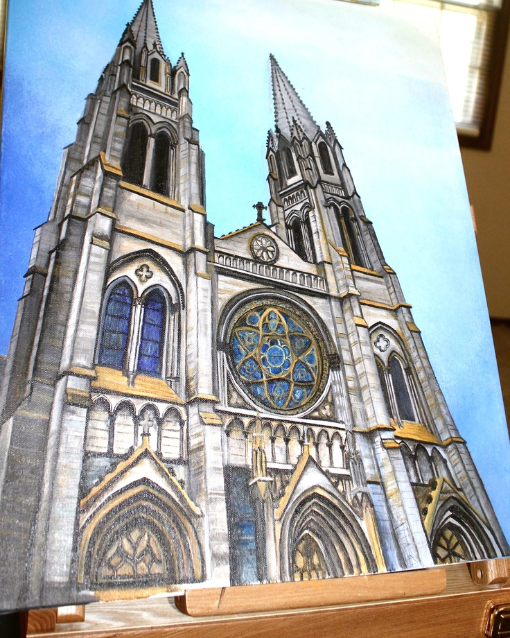 Cathedral.... beautiful art!  julieholthaus.com