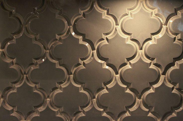 beveled arabesque tile omg i