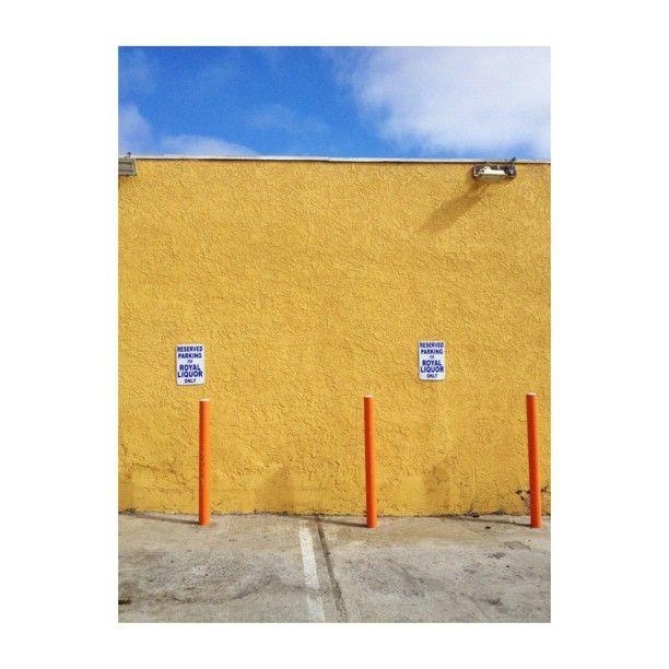yellow wall via @happymundane on Instagram