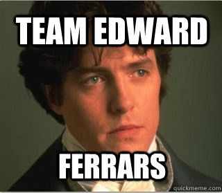 "The reasonable ""Team Edward"" :) - Sense and Sensibility"