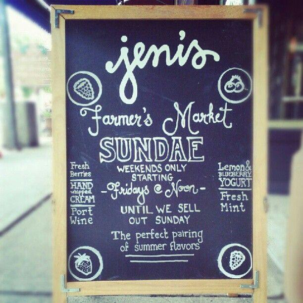 Farmer's Market Sundae - Jeni's Splendid Ice Creams - Instagram