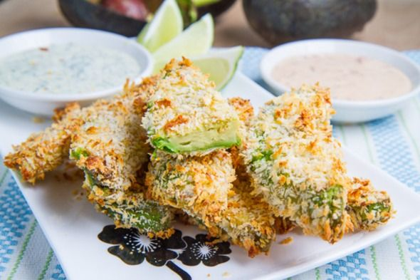 Avocado Fries - Gourmandia Easy Recipes | Food | Pinterest