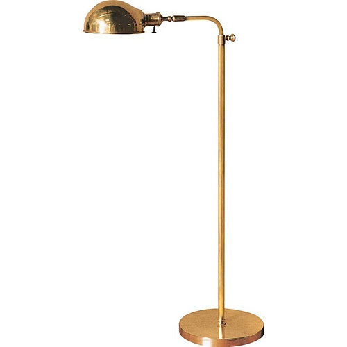 antique brass old pharmacy floor lamp. Black Bedroom Furniture Sets. Home Design Ideas