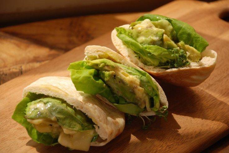 ... creative #fresh #french #gourmet #bakeshop #sandwich #avocado #cheddar