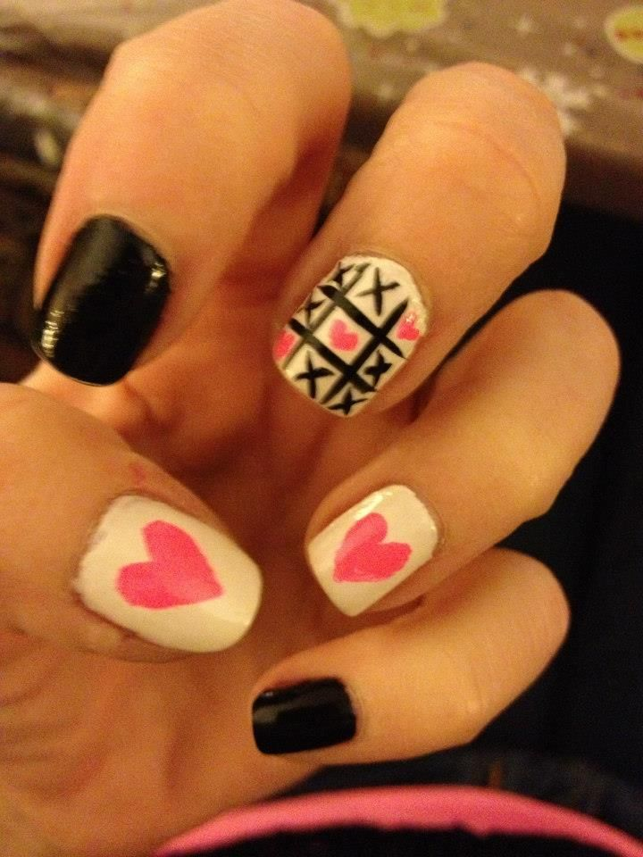 pinterest valentine nails