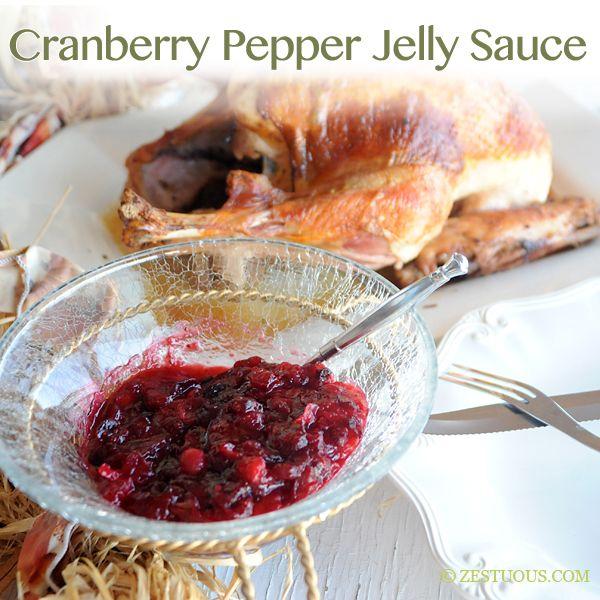 Cranberry Pepper Jelly Sauce | Recipe