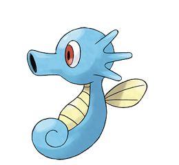 Sea horse pokemon pokemon pinterest