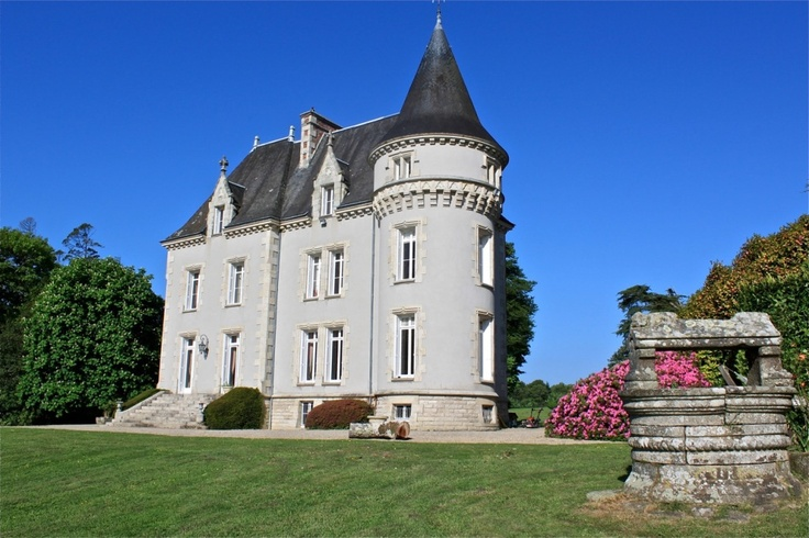 Small French Castle French Castles My Castle Is My Home