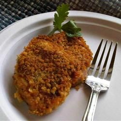 Parmesan Sage Pork Chops Allrecipes.com | Main dish pork | Pinterest