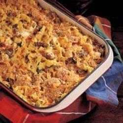 Three Cheese Chicken Penne Pasta Bake | Recipe