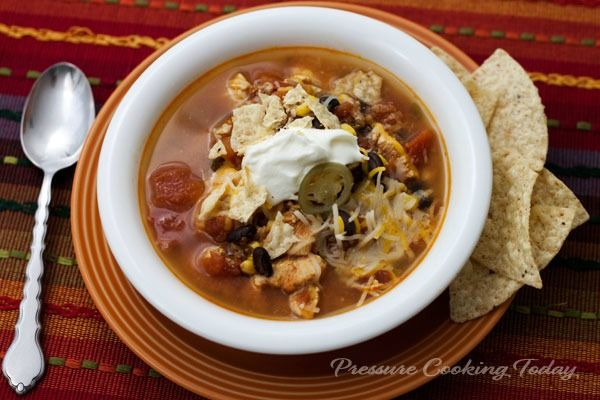 Pressure Cooker Spicy Chicken Soup | Pressure Cooking Today