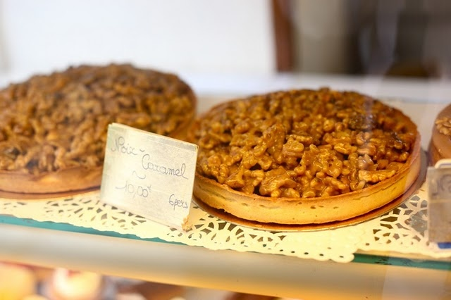 Walnut Caramel Tart a la Périgord Noir | Recipes | Pinterest