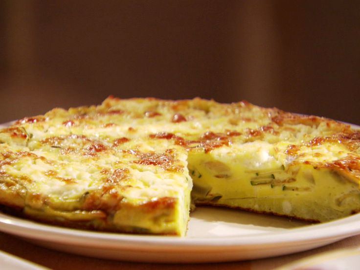... Network Zucchini and Goat Cheese Frittata recipe from Claire Robinson