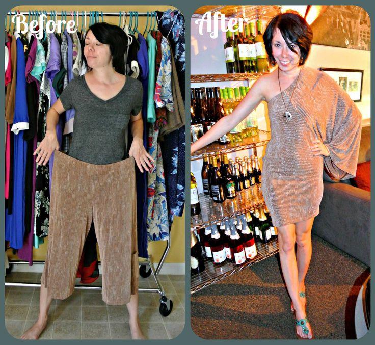 Перешить старое платье на новое
