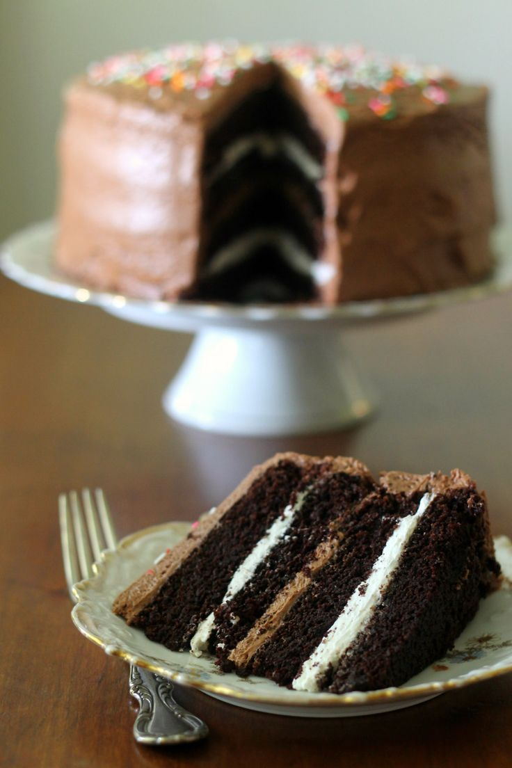 ... Cake with Toasted Marshmallow filling and Malted Chocolate Frosting