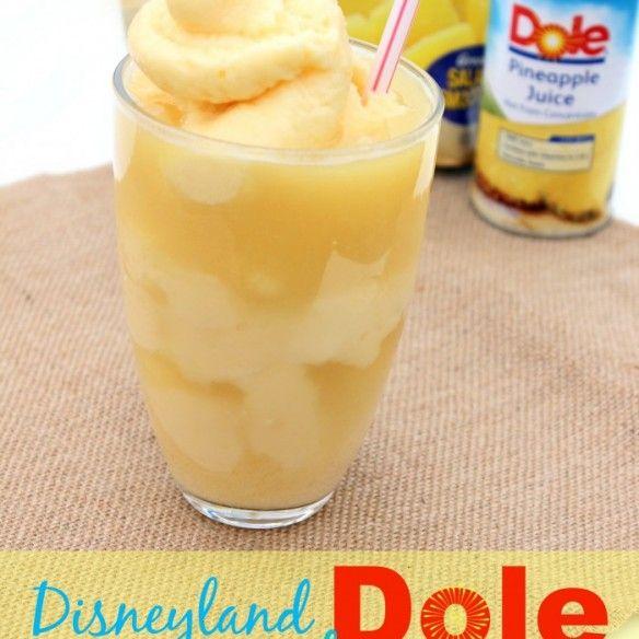 Disneyland Dole Whips | Smoothies/Beverages | Pinterest