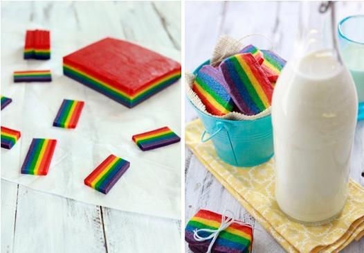 rainbow slice and bake sugar cookie recipe - www.goodlifeeats.com