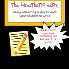 essay on auditory learning style