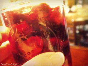 Homemade Maraschino Cherries in a jar Bake This Cake