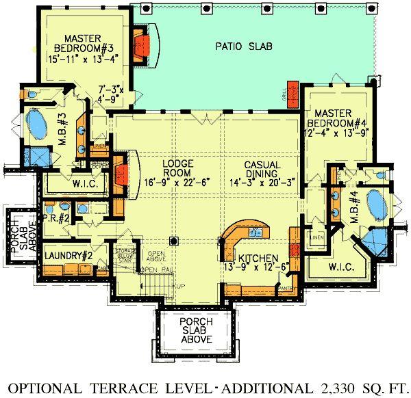 Dual master suites for Dual master suite house plans