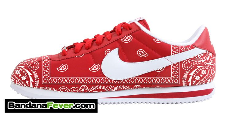 Shop Shoes Nike Shoes Custom Bandana Nike Air Force One Shoes Bandana