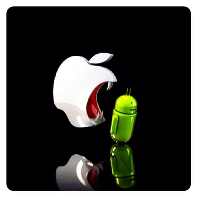 #apple vs #android