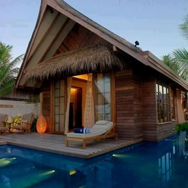 Nice Pool House Outside Pinterest