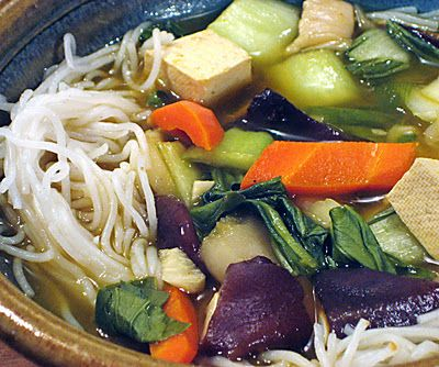 Andrea's Easy Vegan Cooking: Hot and sour soup