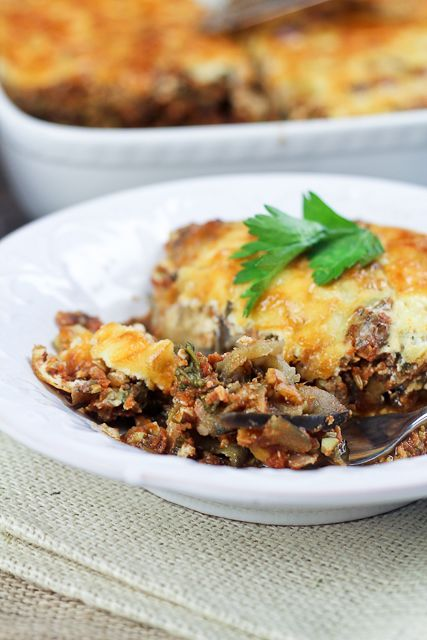 Vegetarian Moussaka from The Healthy Foodie (http://punchfork.com ...