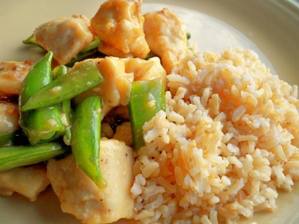 Lighter General Tso's Chicken: 536 calories, 10.2 g fat per serving