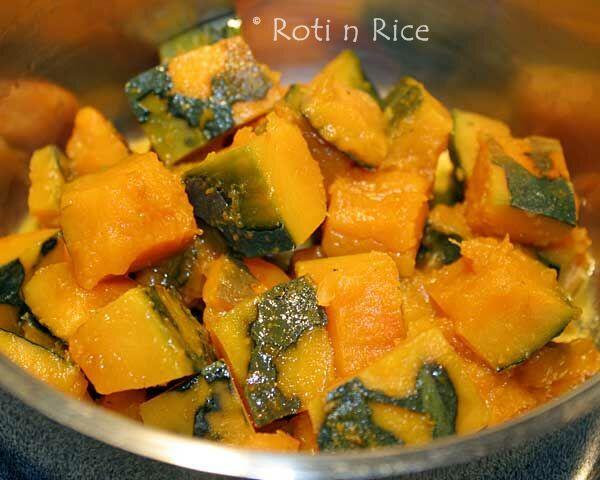 Simmered Kabocha Squash | Roti n Rice