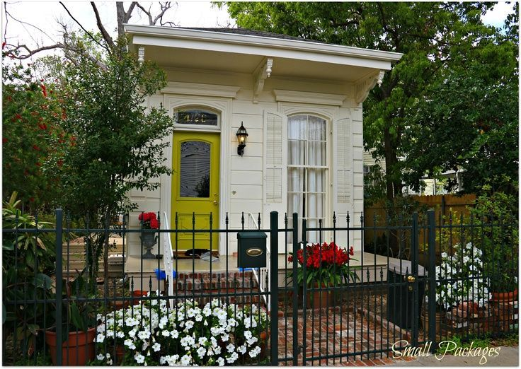 Small cottage in new orleans cottages and cabins pinterest for New orleans home designs