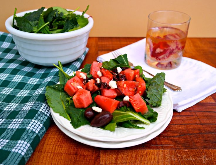 Mediterranean Watermelon Salad - The Foodie Affair