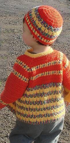 Striped Bunny/Animal Free Knitting Pattern