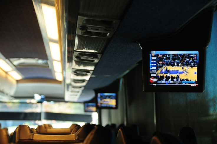 Watch the big game on your way to the OTHER big game!