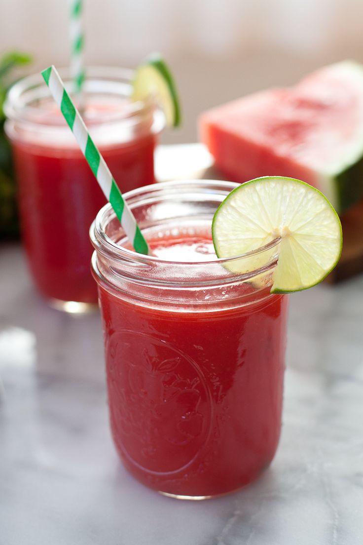 Watermelon mint agua fresca | Recipe