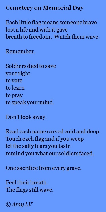 memorial day verses poems