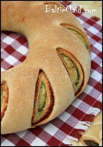 Tomato Pesto Swirl Bread | Breads | Pinterest