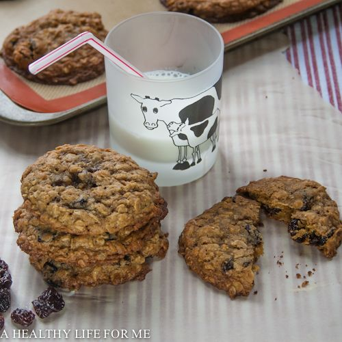 dried cherry butter oatmeal and dried cherry cookies recipes dishmaps ...