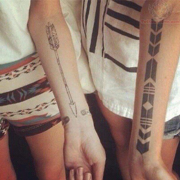 Aztec Arrow Tattoos On Arm   My Style   Pinterest